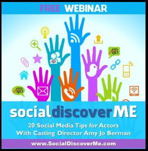 Social Discover Me - Social Media For Actors