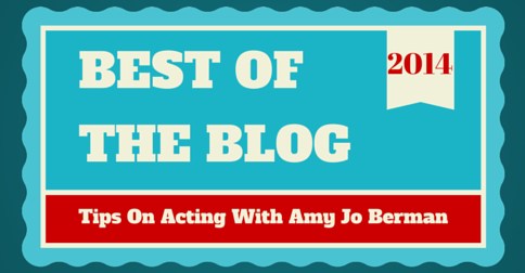 best of the blog tips on acting