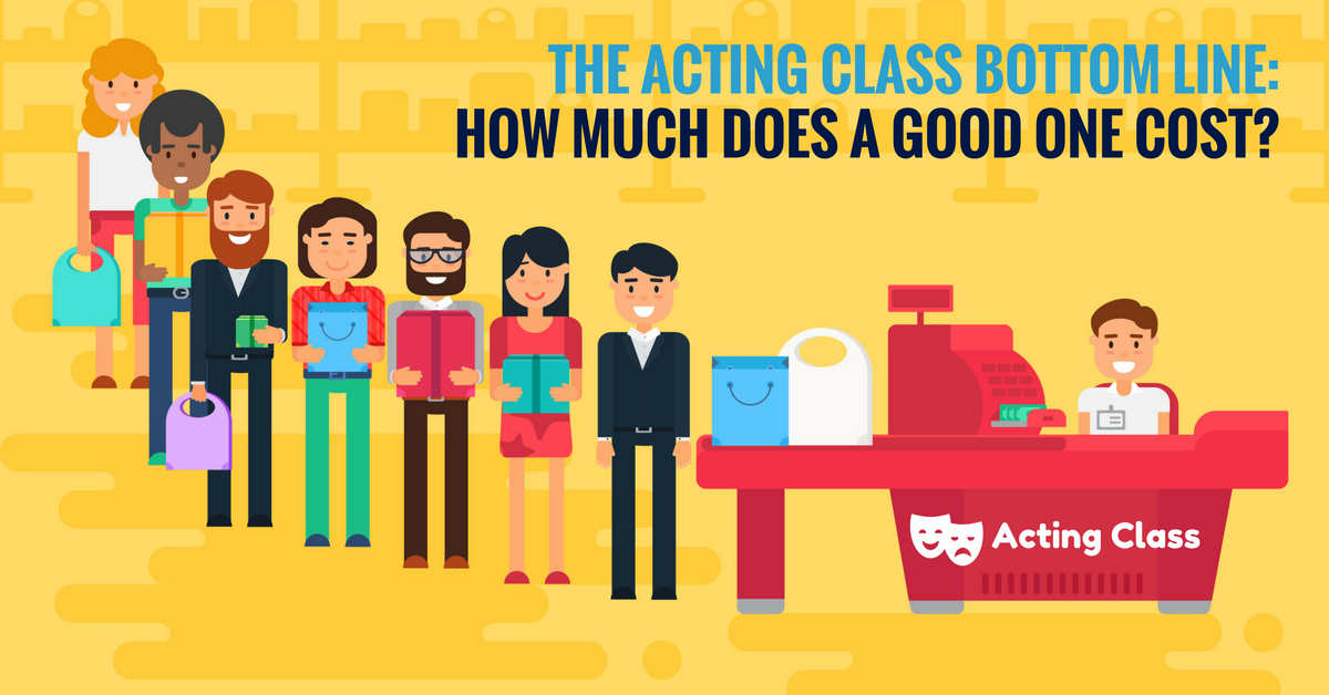 how much does acting class cost